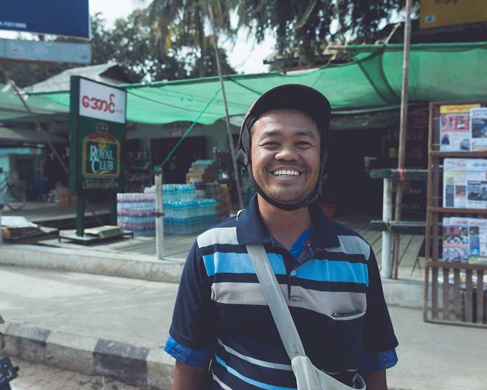 kind people in Bagan