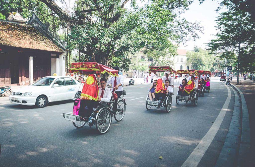 street wedding