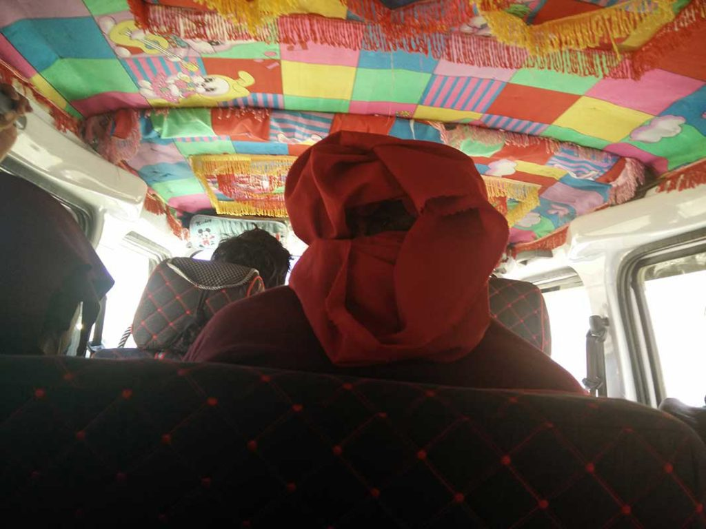 road trip together with lama and nun