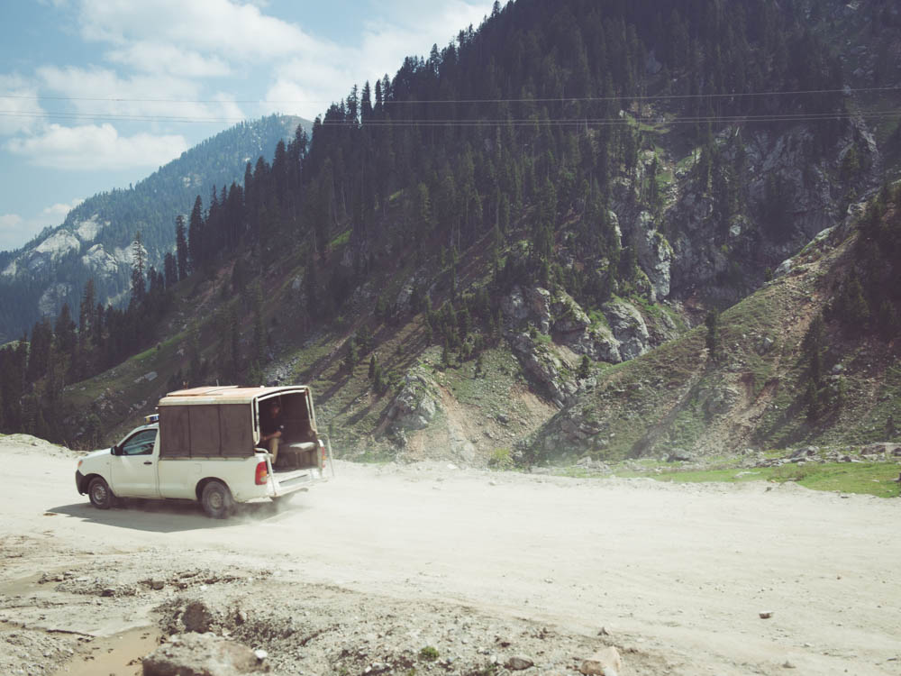 Police escort for 15-16 hrs of car journey, from Chitral to Islamabad