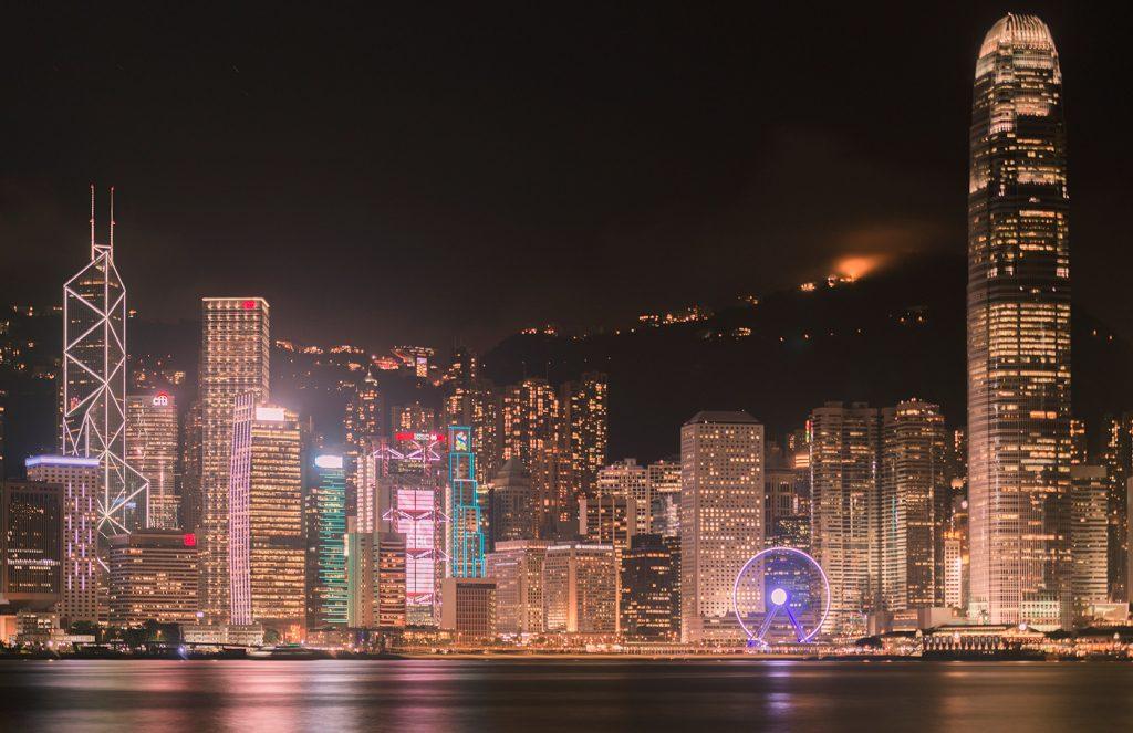 Stunning view of Hong Kong (Tsim Sha Tsui Promenade)